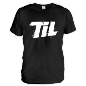 Schwarzes TIL-Shirt